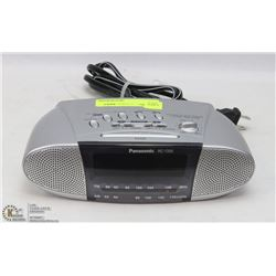 PANASONIC AM/FM CLOCK RADIO