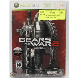 GEARS OF WAR  COLLECTORS EDITION FOR XBOX 360