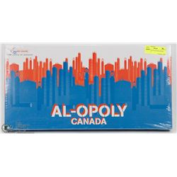 UNOPENED COLLECTOR EDITION  AL-OPOLY