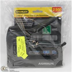 STANLEY AIRCRAFT ALUMINUM STAPLER W/ STANLEY HEAVY