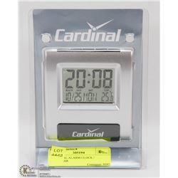 CARDINAL ALARM CLOCK / CALENDAR