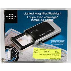 LIGHTED MAGNIFIER / FLASHLIGHT