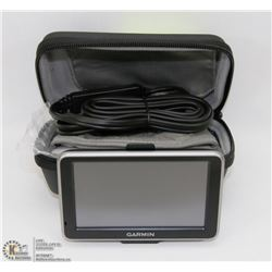 GARMEN GPS WITH CAR CHARGER &  CASE