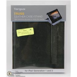 TARGUS TRUSS LEATHER CASE/STAND FOR IPAD GEN 1&2