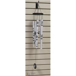 SILVER TRADITIONAL ORIENTAL WIND CHIME