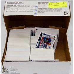 BOX OF (1000)HOCKEY CARDS