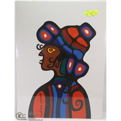 1976 NORVALL MORRISEAU LITHO FROM GALLERY