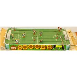 VINTAGE 1960'S SOCCER GAME PLAY SET WITH BOX