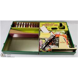 1950'S CHEMISTRY SET IN TIN BOX