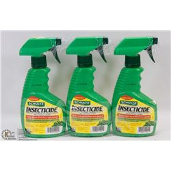 LOT OF 3 BOTTLES OF INSECTICIDE - 354ML EACH