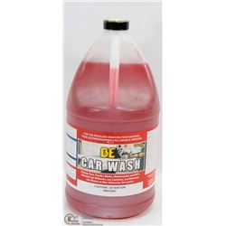 """JUG OF """"BE"""" CAR WASH -  DESIGNED FOR USE IN"""