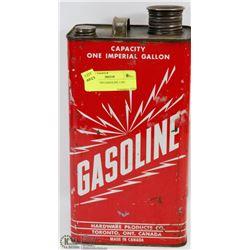VINTAGE TIN GASOLINE CAN