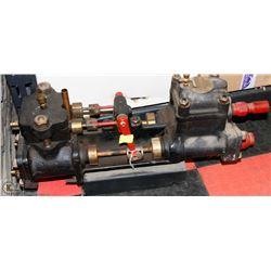 ANTIQUE BRASS STEAM ENGINE PUMP FROM MUSEUM