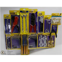BUNDLE OF HAND TOOLS AND HARDWARE