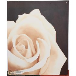 "YELLOW ROSE PAINTING - 20""X32"""