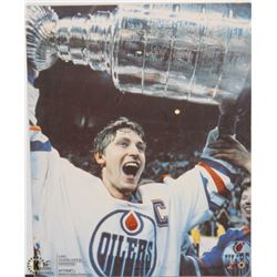"""GRETZKY PAINTING - 20""""X16"""""""