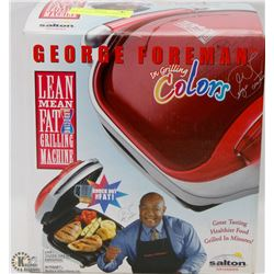 NEW GEORGE FOREMAN GRILLING