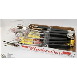 FLAT OF BARBEQUE SUPPLIES
