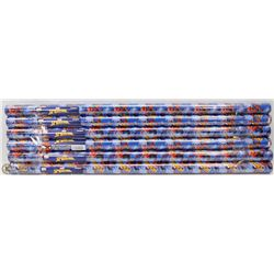 BUNDLE OF 6 ROLLS OF SPIDERMAN WRAPPING PAPER
