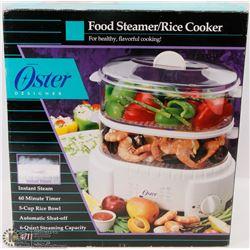 OSTER FOOD STEAMER/RICE COOKER