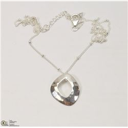 5) STERLING SILVER NECKLACE ( 4.53G)