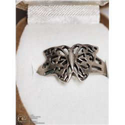 12) STERLING SILVER RING SIZE 9