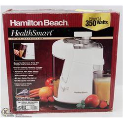 HAMILTON BEACH - HEALTH JUICE EXTRACTOR
