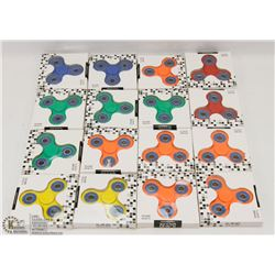 FLAT OF ASSORTED SPINNERS