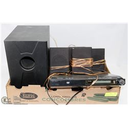 VENTURE DVD PLAYER AND SURROUND SOUND SYSTEM