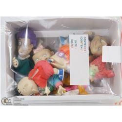 BOX OF COLLECTIBLE RUGRAT DOLLS