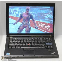 LENOVO THINKPAD T400 WIN 7 LAPTOP W/ MS OFFICE