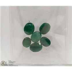 #139- NATURAL GREEN EMERALD GEMSTONE 38.5CT