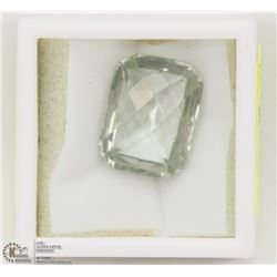 90) GENUINE GREEN AMETHYST, LARGE STONE, APPROX