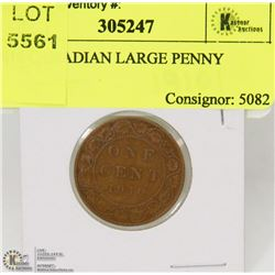 1910 CANADIAN LARGE PENNY