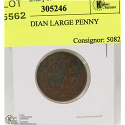 1906 CANADIAN LARGE PENNY