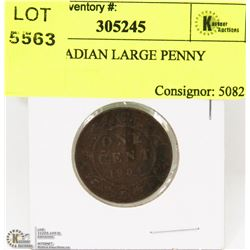 1904 CANADIAN LARGE PENNY