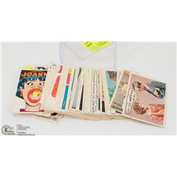 COMPLETE SET OF 1968 TOPPS LAUGH IN TRADING CARDS.