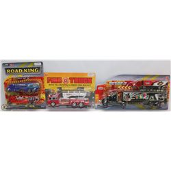 BUNDLE OF NEW TRUCK TOYS