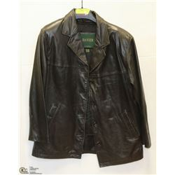 MENS DANIER LEATHER JACKET SIZE MEDIUM
