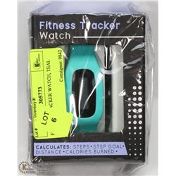 FITNESS TRACKER WATCH, TEAL