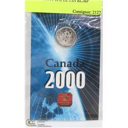 CANADA 2000 LAPEL PIN RCMP