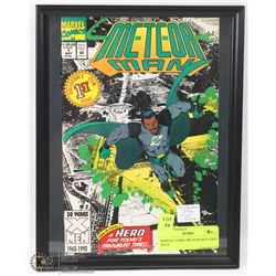 MARVEL COMIC METEOR MAN FIRST ISSUE.