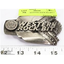 OILFIELD WESTERN ROCK BIT BELT BUCKLE