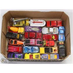 FLAT OF DIE CAST CARS
