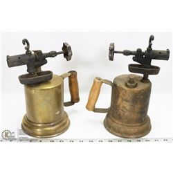 PAIR OF ANTIQUE BLOWTORCHES