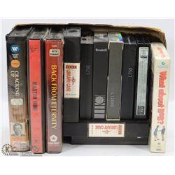 ONE BOX OF BETA MOVIES