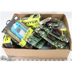BOX OF 8 iPOD SURVIVAL CASES+8 GRAPHICS CARDS