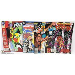 FLAT OF ALL #1 COMICS