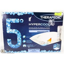 THERAPEDIC HYPERCOOL PILLOW STOMACH OR BACK SLEEPS