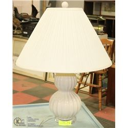 "TABLE LAMP WITH SHADE 27"" TALL"